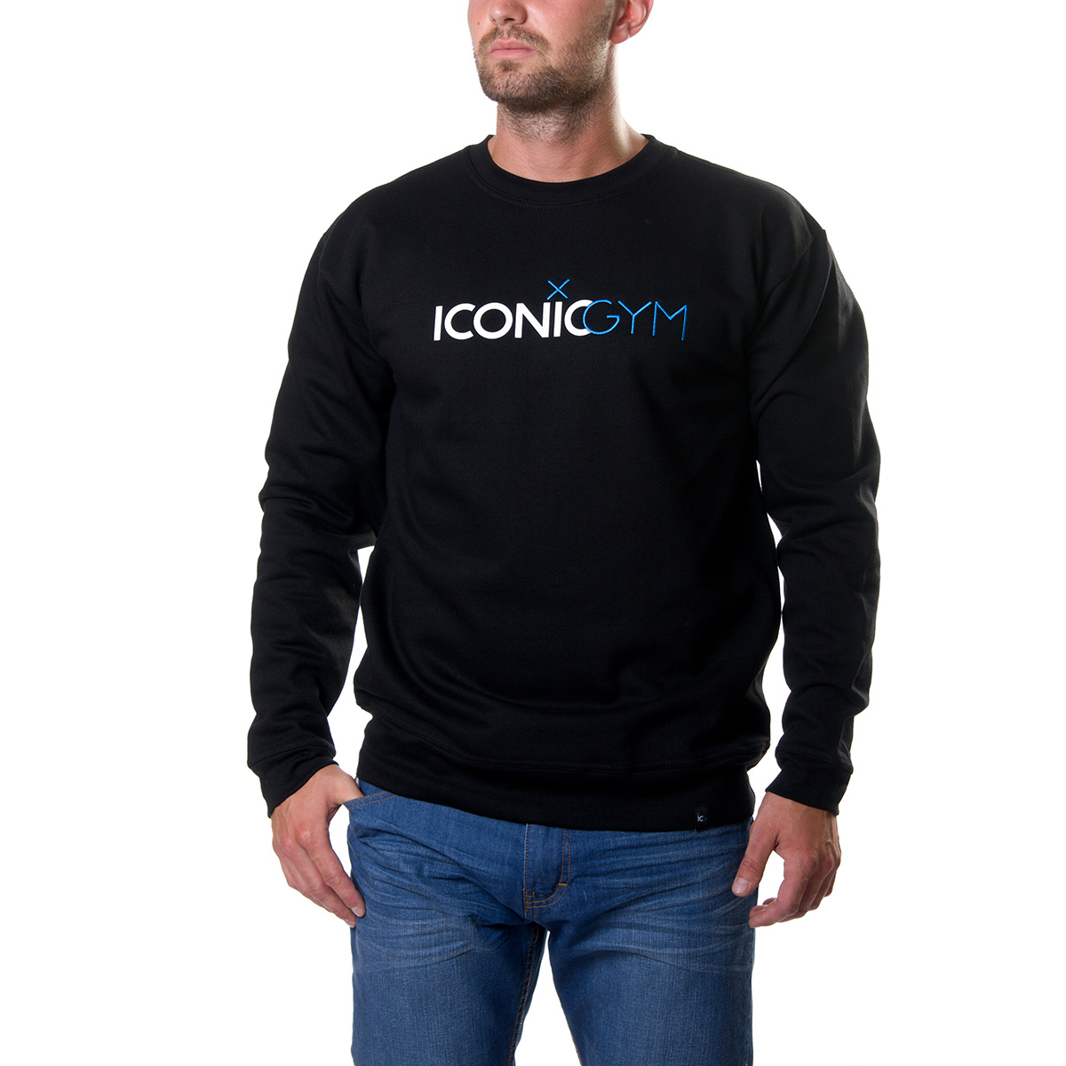 ICONICGYM - Mikina ICONICGYM Team  b5b4c0b9cd